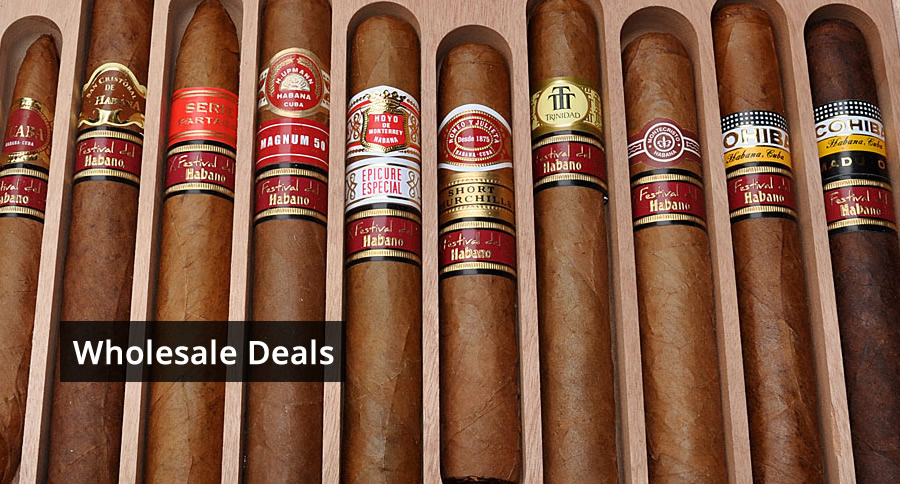 Wholesale Deals Cuban Cigars